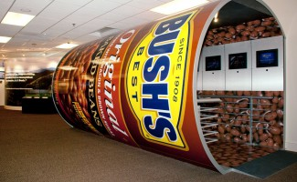 Designed Display at Bush's Best Baked Beans Visitor Center