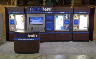 TEAMHealth Displays