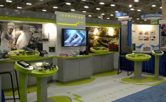 Invenys Trade Show Display for the Tombras Group