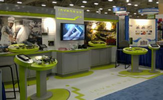 Invensys Trade Show Display for The Tombras Group
