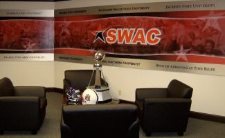 Athletic Facility Lobby and Offices at Southwest Athletic Conference