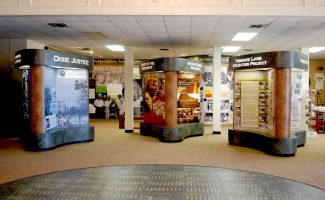 Graphic Displays at the Tuskegee Human and Civil Rights Multicultural Center