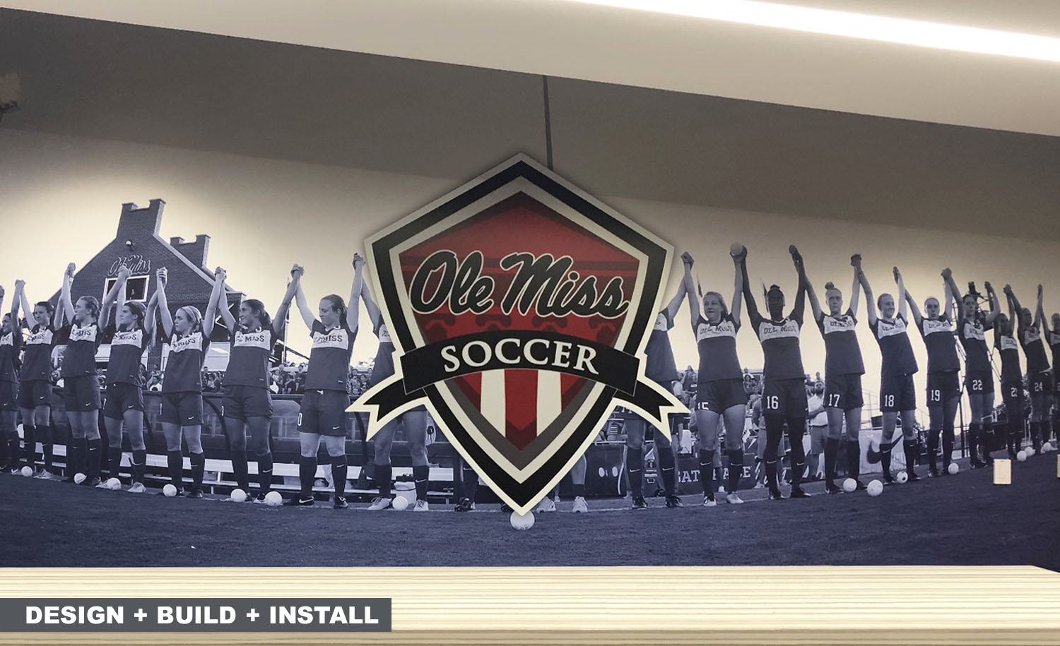 Environmental Graphics for Athletics and Businesses